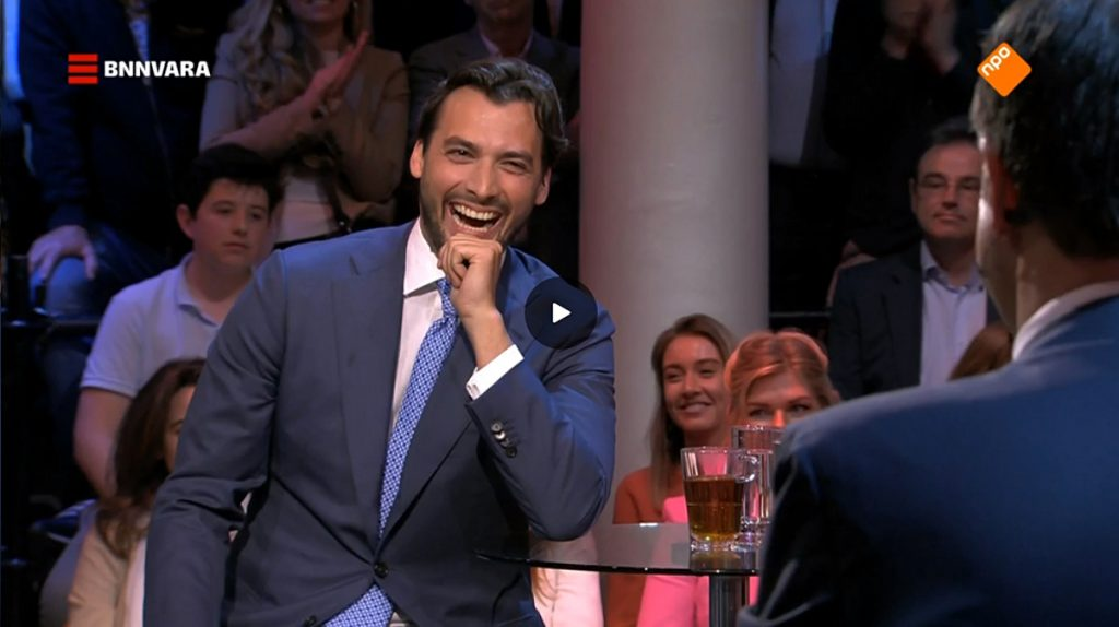 Thierry Baudet in debat met Mark Rutte
