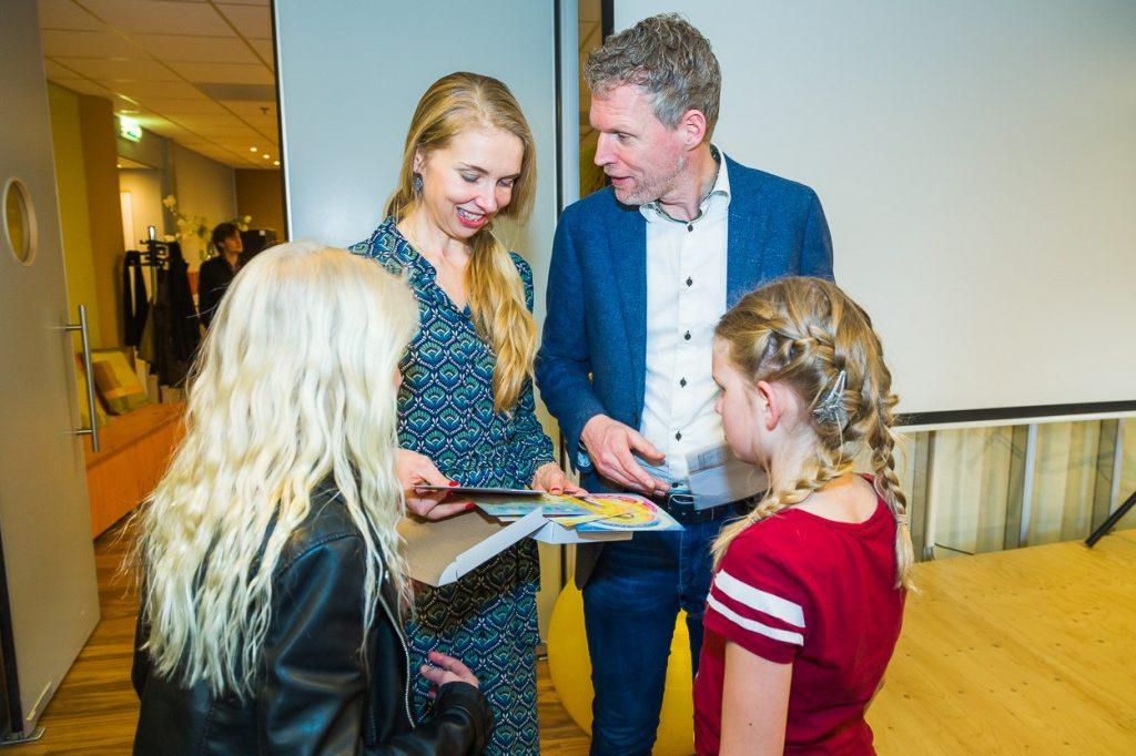 Frank Ruesink met zijn dochters