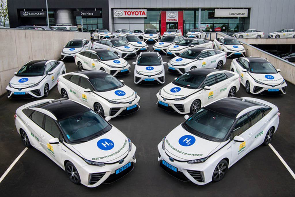 Waterstof-Toyota's