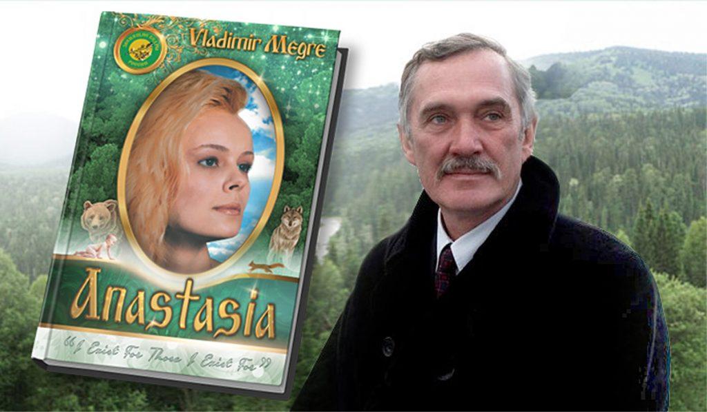 """Vladimir Megre en zijn eerste boek """"Anastasia"""""""