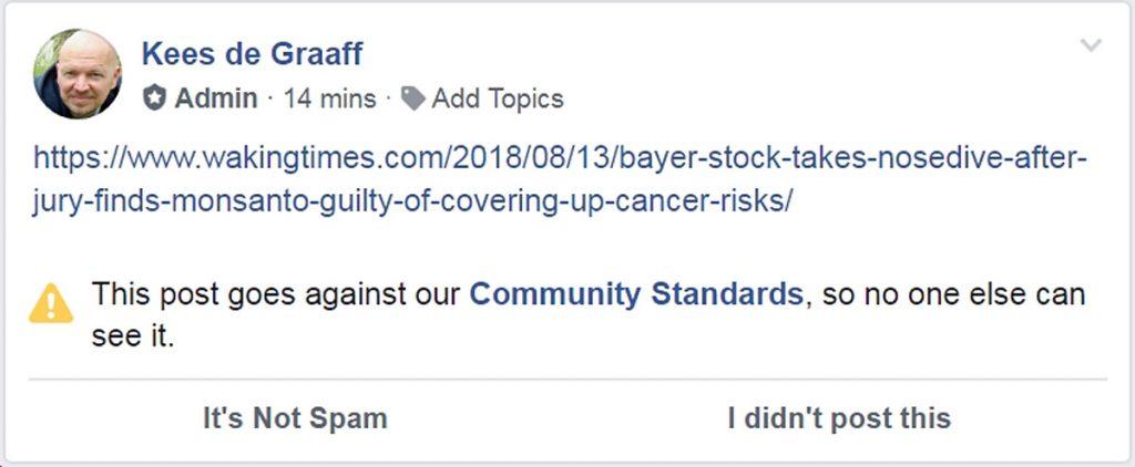 Facebook-censuur