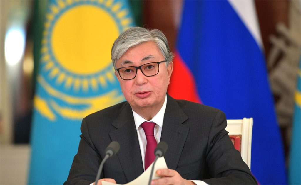 Kassym-Jomart Tokayev, president van Kazachstan