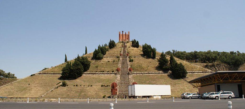 De piramide in de Pyreneeën